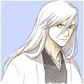 Ukitake Cosplay Wig from Bleach