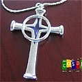 Uryuu Quincy Cross Necklace from Bleach (Package)