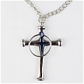 Uryuu Quincy Cross Necklace from Bleach