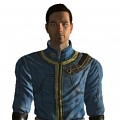 Vault 101 Cosplay (Light Blue, 2nd) von Fallout 3