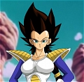 Vegeta (Female) Cosplay from dragon ball z