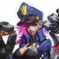 Officer Vi Costume Da League of Legends