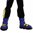Virgil Ovid Hawkin Shoes from Static Shock 2