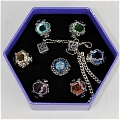 Vongola Rings (2nd, Set) Da Katekyo Hitman Reborn