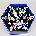 Vongola Rings Set (3rd Set) from Katekyo Hitman Reborn