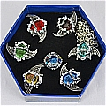 Vongola Rings Set (4th Set) Desde Katekyo Hitman Reborn