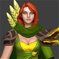 Windranger Cosplay Da DotA