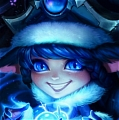 Winter Wonderland LuLu Cosplay (2nd) from League of Legends