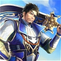 Xiahou Dun Cosplay from Dynasty Warriors
