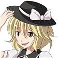 Yuki Cosplay (Black) from Touhou Project