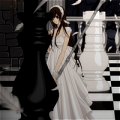 Yuki Cosplay (Yuki and Black King) from Vampire Knight