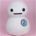 Yukkin Snowman Plush from Karneval