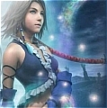 Yuna Cosplay Costume 3rd from Final Fantasy