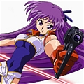 Yuri Cosplay von Dirty Pair Flash