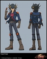 Yusei Fudo Cosplay (for Aura) from  Yu-Gi-Oh! 5Ds