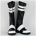 Yuu Shoes (Black White) from D Gray Man