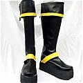 Yuu Shoes (Yellow Black) Desde D Gray Man