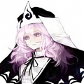 Yuyuko Cosplay (Perfect Cherry Blossom Black) Desde Touhou Project