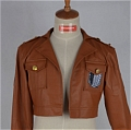 Zoe Cosplay (Recon Corps,Jacket) Desde Shingeki no Kyojin