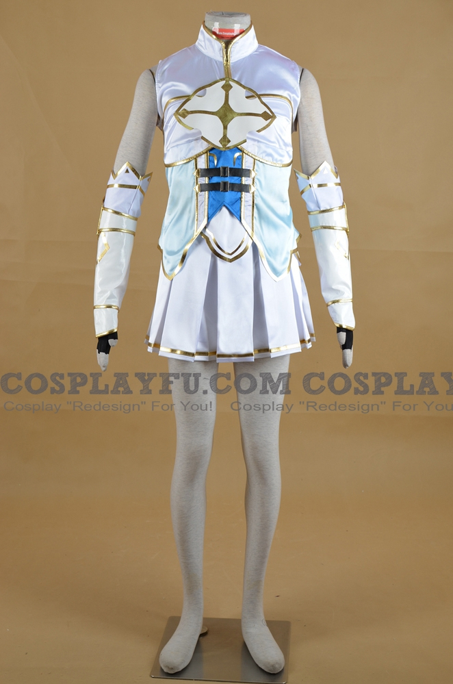 Neptune Cosplay Costume (Four Goddesses Online) from Hyperdimension Neptunia