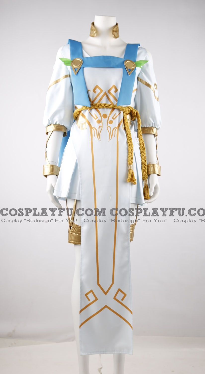 Winged Victory Mercy Cosplay Costume from Overwatch
