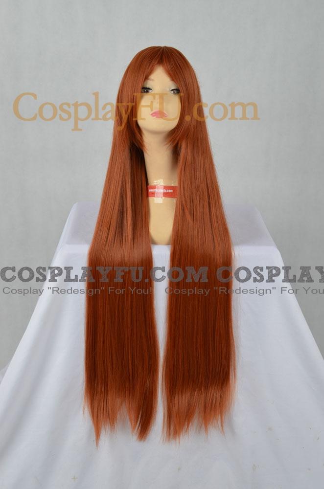 Brown Wig (Wavy,Long,Mikuru)