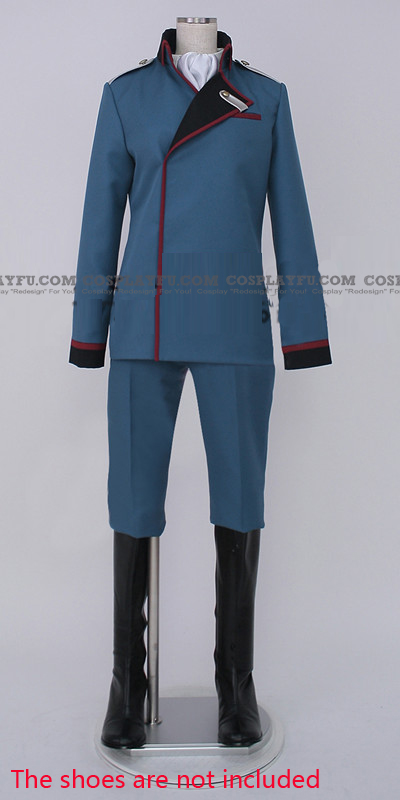 Valvrave the Liberator L-elf Karlstein Costume (Army)
