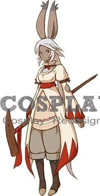 Viera Cosplay Costume from Final Fantasy