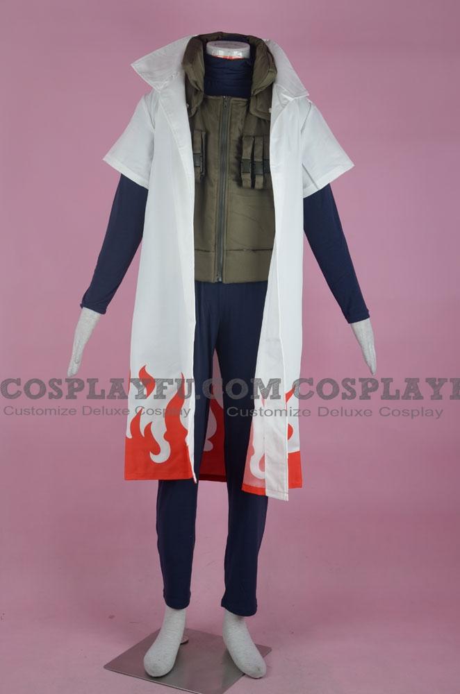 Naruto Yondaime Hokage Costume (1-430 Forth Hokage)