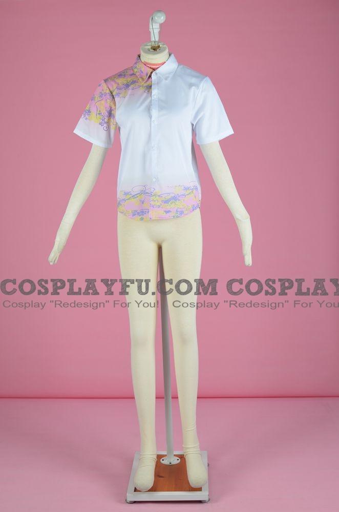 Gin Cosplay Costume (Shirt) from Hotarubi no Mori e