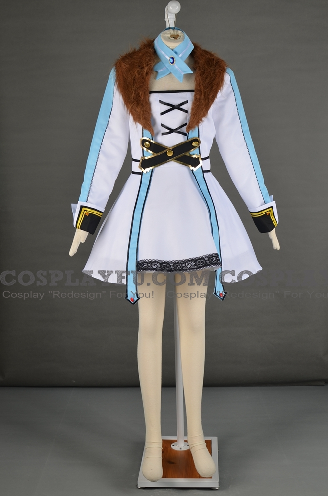 Blanc Cosplay Costume from Hyperdimension Neptunia