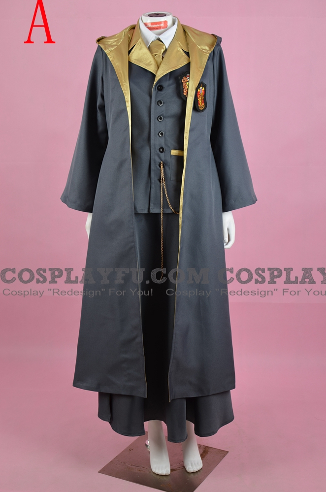 Hannah Cosplay Costume (Hufflepuff Uniform) from Harry Potter