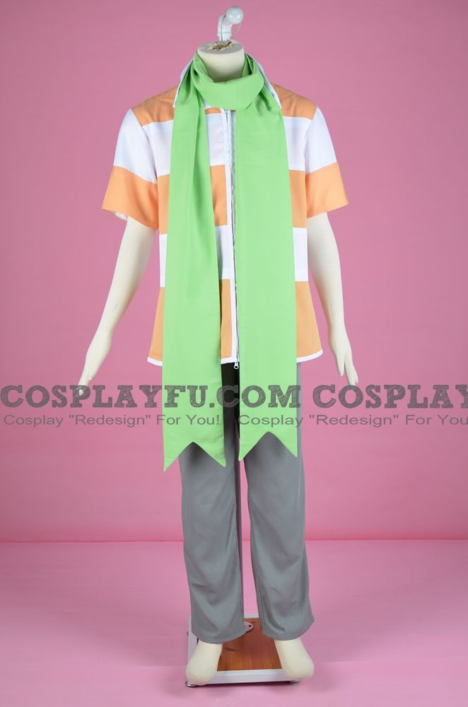 Barry Cosplay Costume (Pokémon Diamond and Pearl Versions) from Pokemon