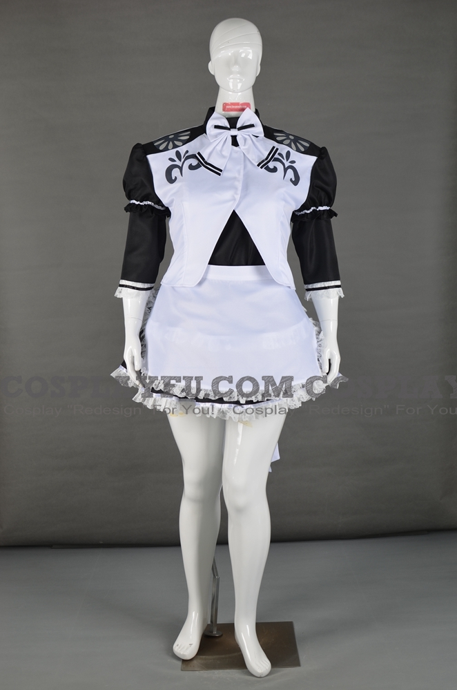 Monster Hunter Privert Costume (Maid)