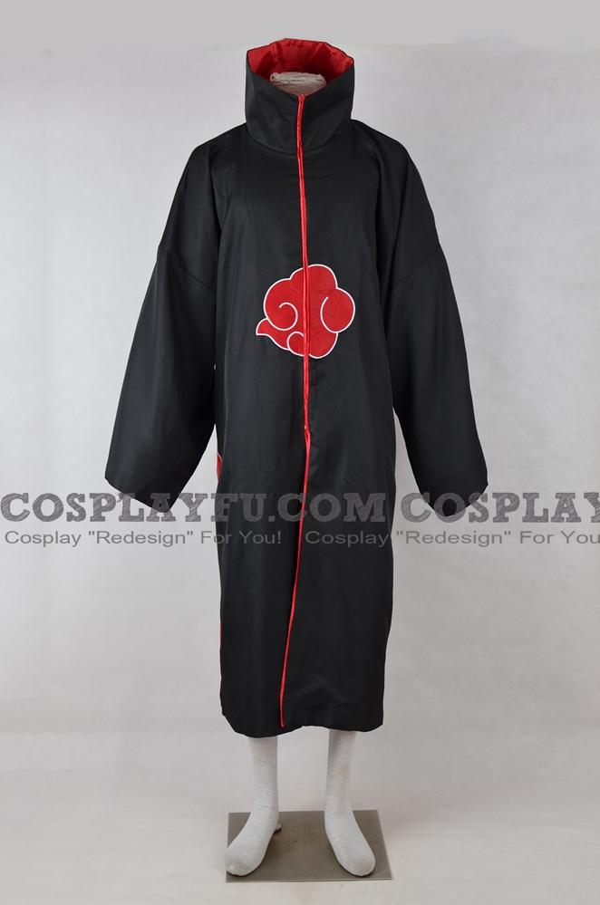 Akatsuki Cosplay Costume (Cloak) from Naruto Shippuuden