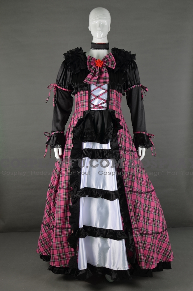 Satori Cosplay Costume (Subterranean Animism) from Touhou Project