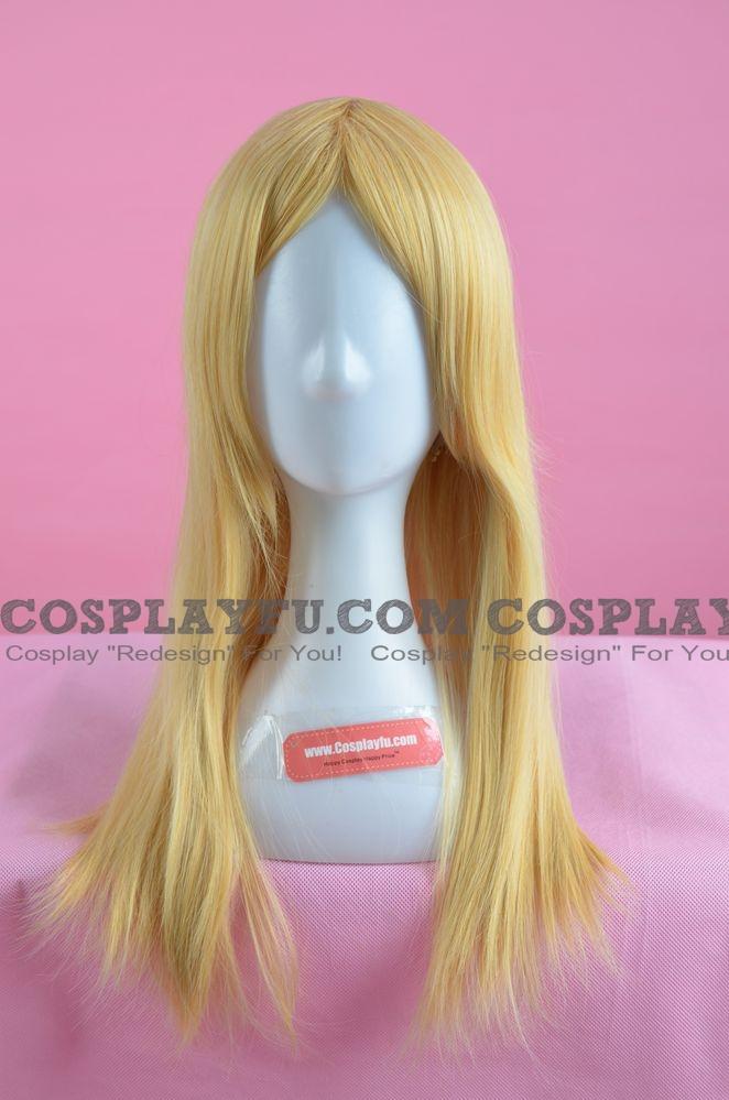 Blonde Wig (Medium,Straight,Suwako)