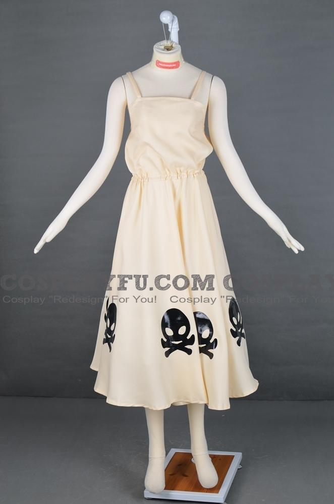 Усопшие Мэгуми Симидзу Костюм (Yellow Dress)