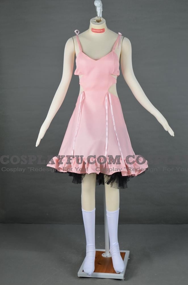 Shiki Megumi Shimizu Traje (Pink Dress)