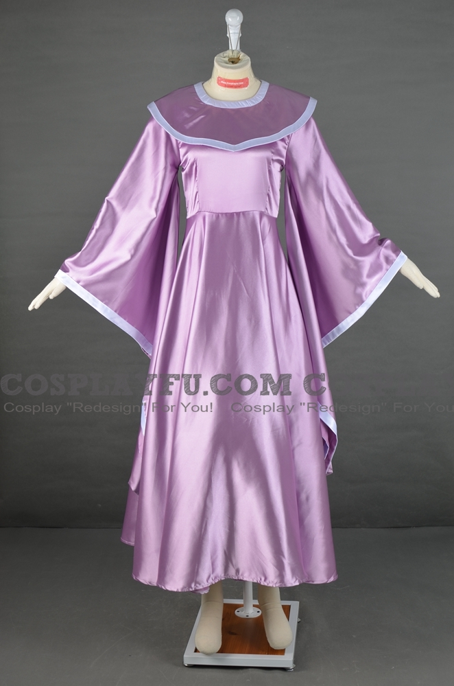 Schala Cosplay Costume from Chrono Trigger