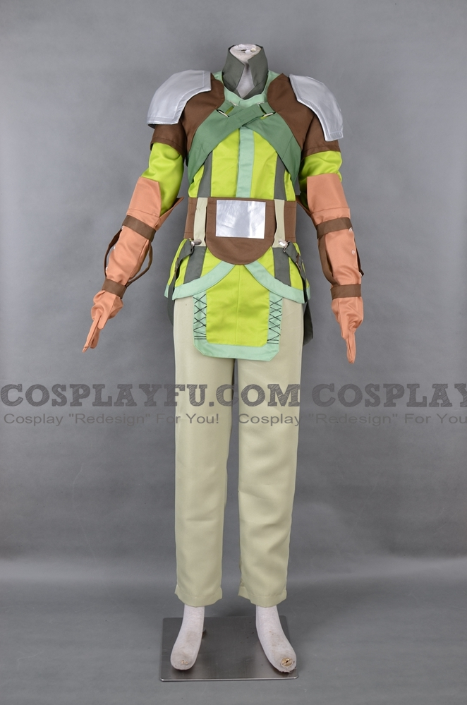 Nolan Cosplay Costume from Fire Emblem: Radiant Dawn