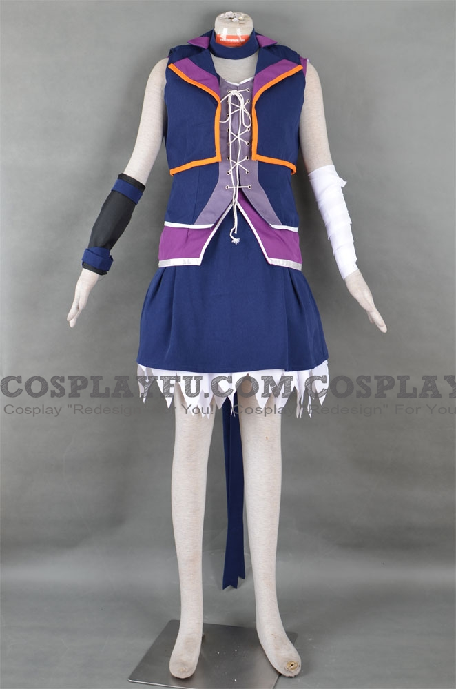 V Flower Cosplay Costume from Vocaloid 3