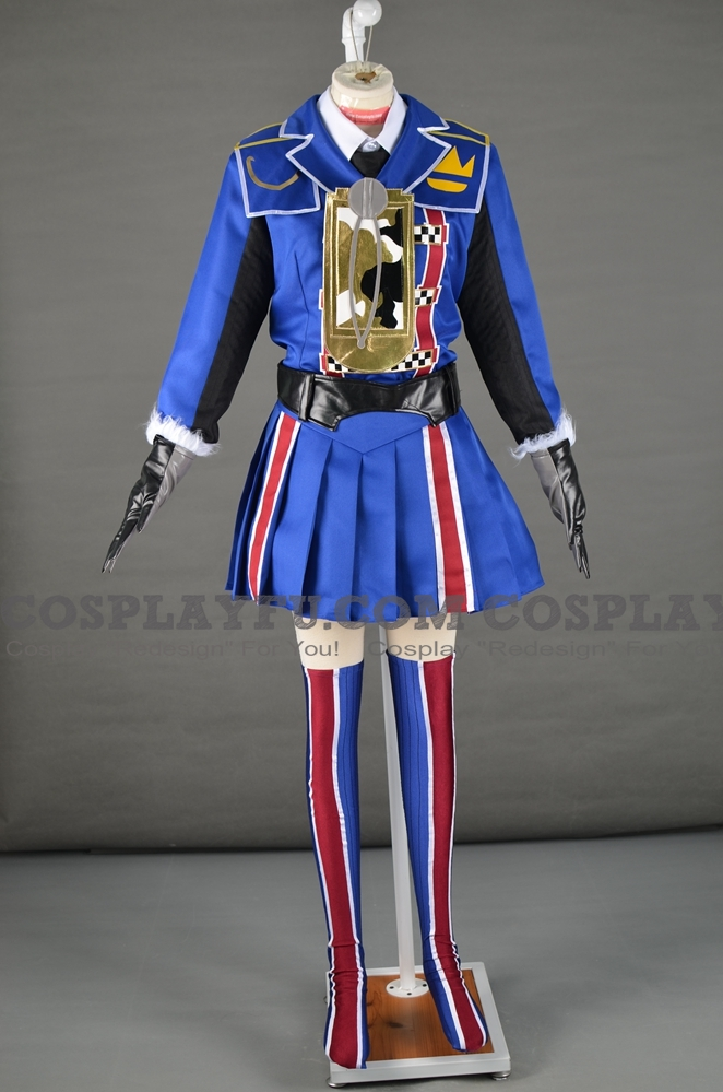 Carisa Contzen Cosplay Costume from Valkyria Chronicles 3