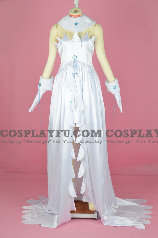 Chii Cosplay Costume (White Dress) from Tsubasa