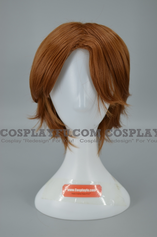 Captain America wig from Captain America in: The Doom Tube of Dr. Megalomann