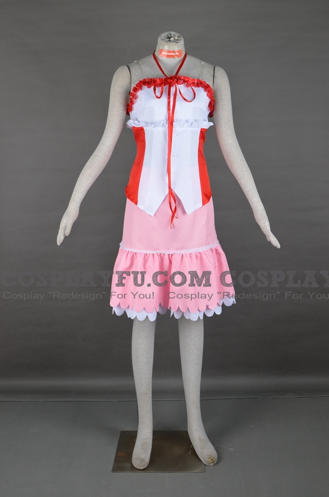 Aerith Cosplay Costume from Final Fantasy