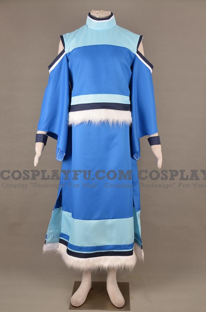 Korra Cosplay Costume (3rd) from The Legend of Korra