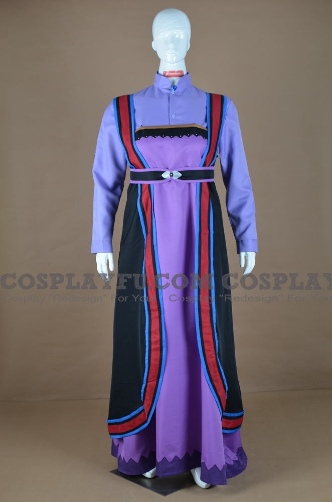 Queen Iduna Cosplay Costume from Frozen