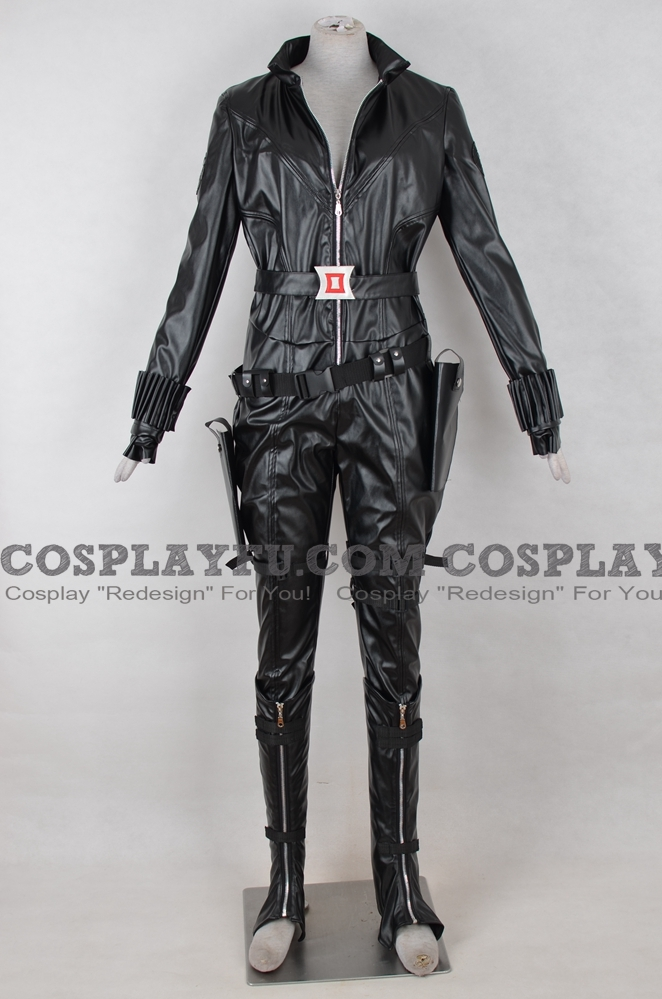 Natasha Cosplay Costume from The Avengers