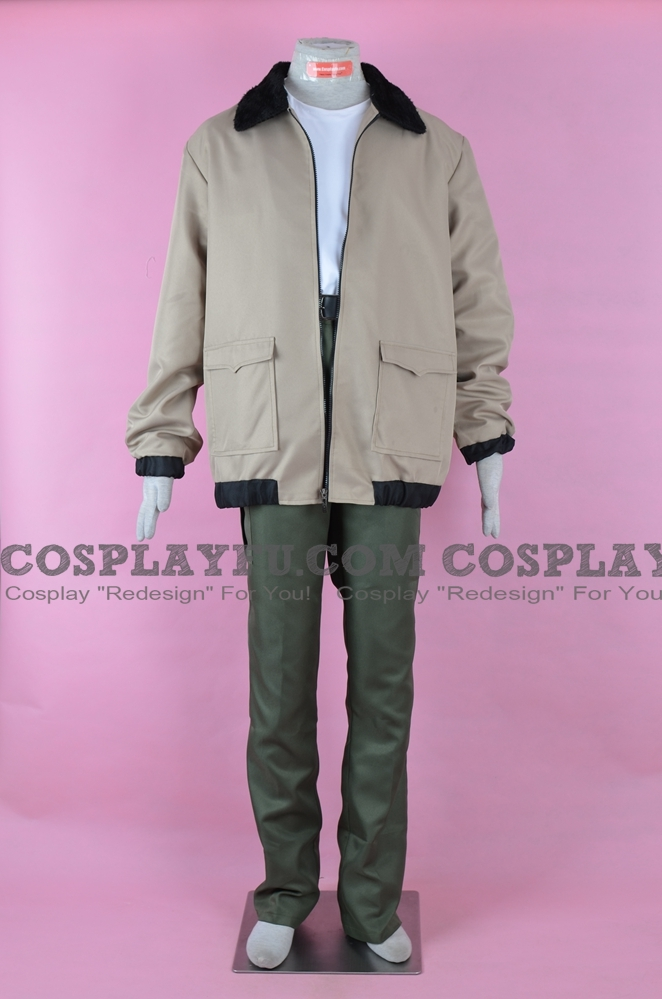 Batou Cosplay Costume (ARISE AA) from Ghost in the Shell